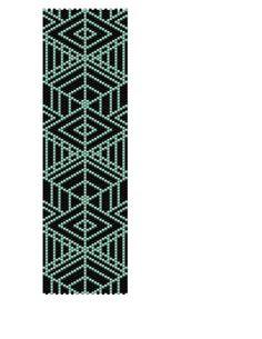 Peyote Bracelet Pattern  Diamonds Buy 2 Patterns  by KFSDesigns, $6.50