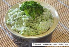 Brokkolis krémsajt