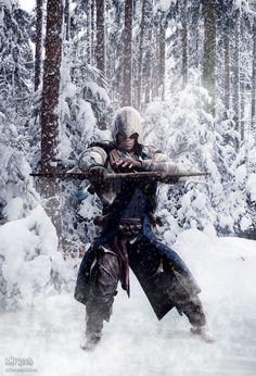 Assassin's Creed: Connor Kenway by BMFreed.deviantart.com on @deviantART