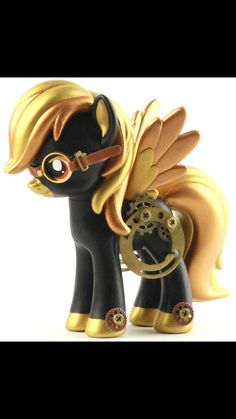 Steampunk My little pony Steampunk Costume, Steampunk Fashion, Mlp, Steampunk Characters, M Anime, My Lil Pony, Little Poney, Punk Art, Vinyl Toys