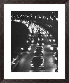 Night traffic on the Major Deegan Expres print by Yale Joel at Photos.com 50694434