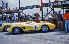 1958 12H Sebring Scuderia Cuba Ferrari 500 TRCL4 2000 cc S2.0 Manolo Perez de la Mesa Santiago Gonzalez Alfonso Gomez-Mena