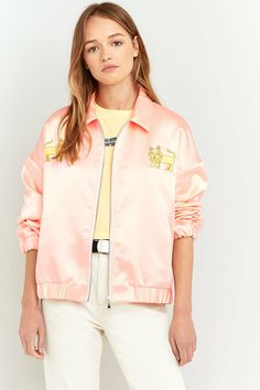 Shop Lupe Jammin Satin Jacket at Urban Outfitters today. We carry all the latest styles, colours and brands for you to choose from right here.