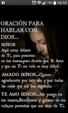 Amen Amen y Amen gracias senor God Prayer, Prayer Quotes, Bible Quotes, Daily Prayer, Spanish Prayers, Morning Prayers, Prayer Board, God Loves Me, God Jesus