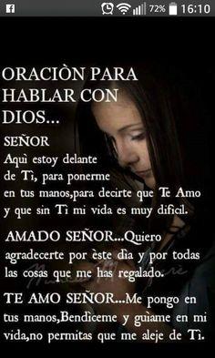 Amen Amen y Amen gracias senor God Prayer, Prayer Quotes, Bible Quotes, Daily Prayer, Spanish Prayers, Catholic Prayers, Morning Prayers, Prayer Board, God Loves Me