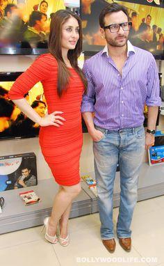 #SaifAliKhan and #KareenaKapoor promote #AgentVinod
