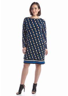 MICHAEL Michael Kors  Plus Size Loom Long Sleeve Dress