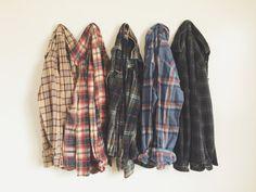 Vintage Soft Oversized Flannel Shirt | Choose Size + Color | Hipster Grunge Boho Cozy Fall