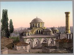 İstanbul-Kariye mosque, Constantinople, Turkey, (LOC)