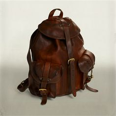 I need this RRL Riley Leather Rucksack