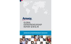 Amway releases the 2014 Amway Global Entrepreneurship Report