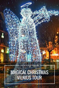 Discover a festive Vilnius Old Town: visit the shining Christmas tree, hear the legends and Christmas celebration traditions, also taste Lithuanian deep coffee or local tea for FREE . Feel the festive spirit now by participating in Magical Christmas tour in Vilnius Old Town! https://www.likealocalguide.com/vilnius/tours/magical-christmas-vilnius-tour