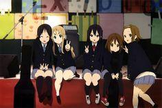 Akiyama Mio, Kotobuki Tsumugi, Nakano Azusa, Hirasawa Yui & Nakano Azusa