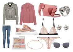 Sin título #67 by sukia on Polyvore featuring moda, Bottega Veneta, Yves Saint Laurent, Current/Elliott, Fleur du Mal, Miu Miu, Loewe, Givenchy, Monica Vinader and Roberto Cavalli
