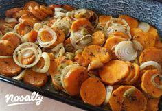 Olaszos édesburgonya | Nosalty Potato Recipes, Meat Recipes, Healthy Recipes, Hungarian Recipes, Recipes From Heaven, Light Recipes, Vegan Life, Diy Food, Main Meals