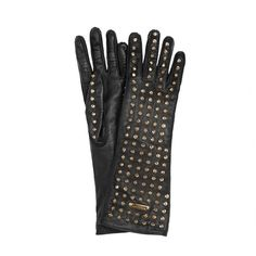 Burberry Studded Leather Gloves ❤ liked on Polyvore featuring accessories, gloves, burberry, random, burberry gloves and studded leather gloves