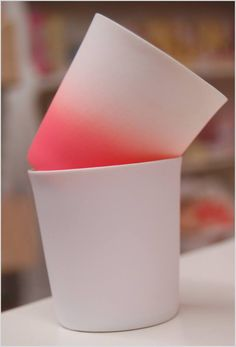 Peach votives from Bloomingville
