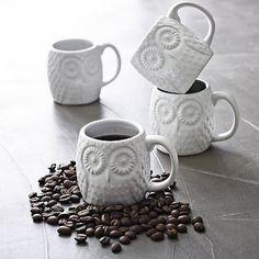 owl espresso mugs