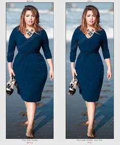 The best style of dresses to look thinner