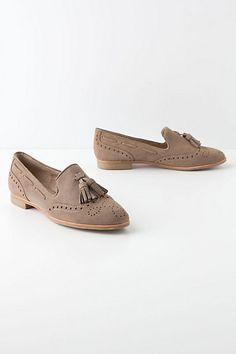Frankie Suede Loafers - Anthropologie.com... Or tan for clinic.... Hmmm