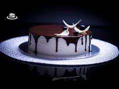 Tort Lapte de Pasăre / Bird's Milk Cake (English Subtitles) - YouTube Romanian Desserts, Milk Cake, Cake Batter, Chocolate Ganache, Panna Cotta, Keto, Sweets, Ethnic Recipes, Clipuri Video