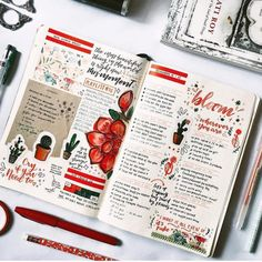Top 10 Red Bullet Journal Spreads from this week! Top 10 Red Bullet Journal Spreads from this Week! Bullet Journal Spreads, Digital Bullet Journal, Bullet Journal Writing, Bullet Journal Ideas Pages, Bullet Journal Inspiration, Journal Pages, Journal Notebook, Scrapbook Journal, Journal Layout