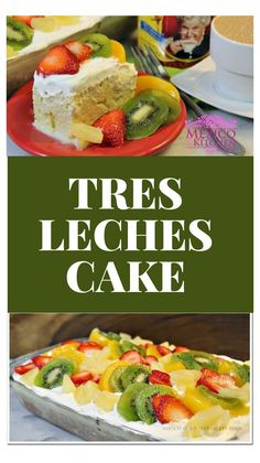 How to make tres leches cake ?Many people loveTres Leches cake. Some trace its origin to Nicaragua others to Mexico but I guess what matters is how good it tastes and how easy it is to make it! Mexican Food Recipes, Dessert Recipes, Ethnic Recipes, Mexican Desserts, Spanish Recipes, Spanish Food, Cheesecake Recipes, Vegan Desserts, Sweet Recipes
