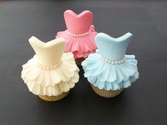 Ballerina cupcakes  Cake by TraceyWheeler