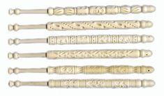 Sewing Tools, Sewing Crafts, Bobbin Lacemaking, Bobbin Lace Patterns, Needle Lace, Bone Carving, Lace Making, Chantilly Lace, Irish Crochet