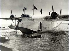 The era of the flying boat began in Durban on 22nd May 1937 with the first of two survey flight when the Cambria, a Short Empire C-Class flying boat of Imperial Airways
