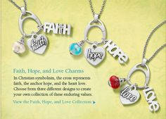 James Avery Jewelry - the hope heart was meant for me!!  I'm getting it!