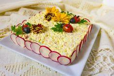 Salată de ouă cu șuncă și cașcaval | Retetele mele dragi Yummy Food, Tasty, Easter Ideas, Cake, Desserts, Blog, Tailgate Desserts, Deserts, Delicious Food