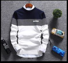 Mens fashionable three patterned sweater for the stylish fashionista Modern design offers a cool stylish look Perfect for parties or social gatherings Made from high quality material Available in 3 colors Mens Fashion Sweaters, Cardigan Fashion, Men Sweater, Cotton Sweater, Sweater Jacket, Male Jumper, Cardigan Sweaters, Shawl Cardigan, Fashion Hoodies