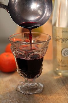 Hot Mulled Wine recipe