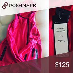 BCBG MAXAZRIA RED/PINK HOODIE NWT 🔴NWT  🔴BCBG MAXAZRIA  🔴PINK/RED BCBGMaxAzria Tops Sweatshirts & Hoodies