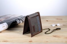 Troop London Urban Security Travel Wallet Bi-fold with Chain London Logo, Velcro Patches, Canvas Wallet, Wallet Chain, Troops, Wallets, Card Holder, Urban, This Or That Questions