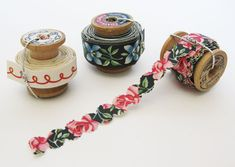 trim your washi tape with decorative edge punches and scissors