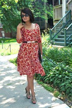 Vintage dresses for summer (cute summer church dress)