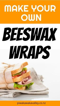 One of the biggest game changers in our plastic free kitchen adventure was discovering how to make beeswax wraps. Plastic wrap, cling film, gladwrap - whatever you want to call it, it is everywhere. We use it to wrap sandwiches, fruit, snacks, leftovers, take-a-plates, cheese, baking, you name it, we can wrap it. Homemade Crafts, Easy Diy Crafts, Diy Crafts To Sell, Honey Recipes, Real Food Recipes, Beekeeping For Beginners, Beeswax Food Wrap, Aging Wood, Candlemaking