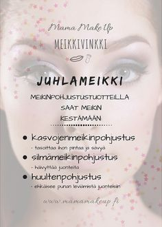 Meikinpohjustustuotteet Make Up, Personal Care, Eyes, Beauty, Self Care, Personal Hygiene, Makeup, Beauty Makeup, Beauty Illustration