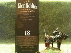 Glenfiddich - from Scotland to our house for a Burn's Supper.
