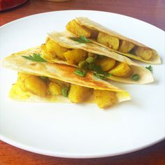 spiced potato triangles: simple and easy to make!