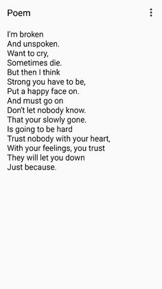 Poem: Just Because