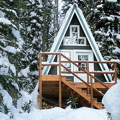 Rarely do I dream of winter getaways, but I might make an exception for this.