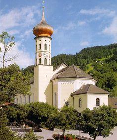 Schruns, Kirche Hl. Jodok, Montafon
