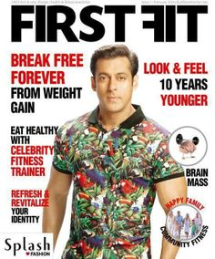 #SalmanKhan on First Fit Magazine Cover. ▬► http://www.salmankingdom.com/salman-khan-first-fit-magazine-cover-photo/