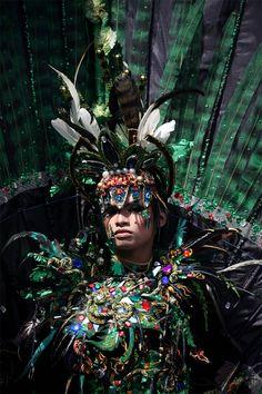 Color Madness: Jember Fashion Carnival in Indonesia