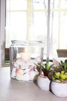 NATURE IN A JAR:Simple Nature Decor