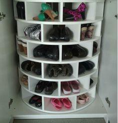 Shoe lazy susan