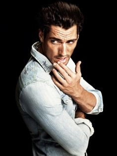 Manly hands too!!  This has got to be the most perfect man ever!